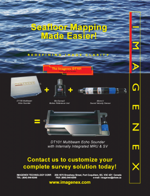 Seafloor Mapping Made Easier with DT101