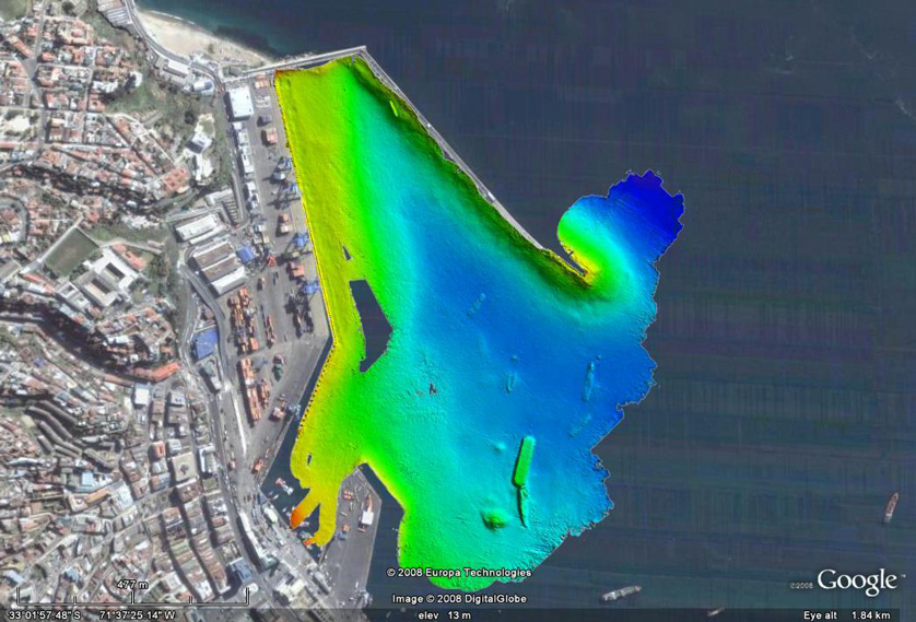 Data from EMK (Expeditionary Multibeam Kit)