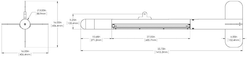 BlackFin 1100 Sidescan Sonar