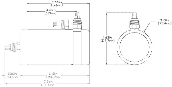 881L 330 kHz Echo Sounder